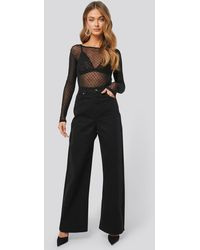 NA-KD - Trend Wide Leg High Waisted Jeans - Lyst