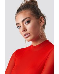 NA-KD - Textured Multi Circle Earrings Gold - Lyst