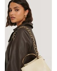 NA-KD Accessories Removable Chunky Bag Chain - Mettallic