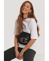 Champion Black Belt Bag Logo