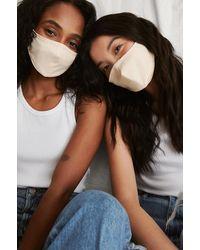 NA-KD Accessories 2-pack Stevige Passende Maskers - Meerkleurig