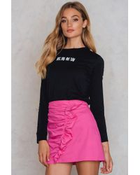 Trendyol - Frill Mini Skirt - Lyst