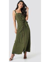 Sisters Point Bina Dress - Grün