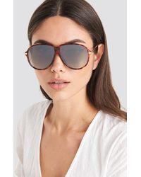 Mango Brown Molly Sunglasses