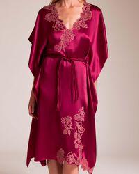 Carine Gilson - Rose's Silk Satin Kaftan - Lyst