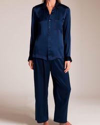 Skin Silk Reina Pyjama - Blue