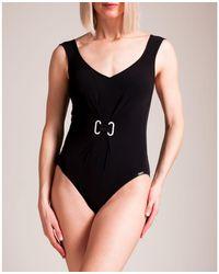 Maryan Mehlhorn - Jet Set Molded Swimsuit - Lyst