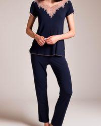 Paladini Couture P Cult Stella Pajama - Blue
