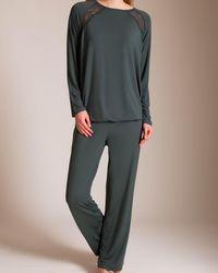CALIDA Dana Pyjama - Grey