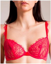 Andres Sarda Love Full Cup Bra - Red