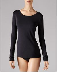 Wolford Pure Pullover - Black