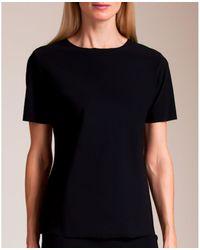 Karla Colletto Spresa Short Sleeve Shirt - Black