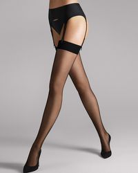 Wolford Individual 10 Stockings - Black
