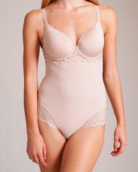 Simone Perele Caresse Molded Bodysuit - Pink