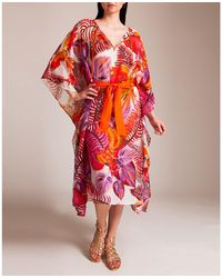 Roberto Cavalli - Tropical Forest Long Tunic - Lyst