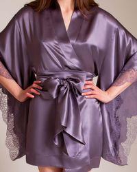 Carine Gilson - Ceres Short Kimono - Lyst