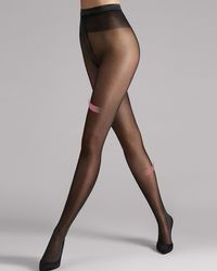 Wolford - Synergy 40 Light Leg Support Tights - Lyst