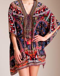 Camilla - Dancing On My Own Short Lace-up Kaftan - Lyst