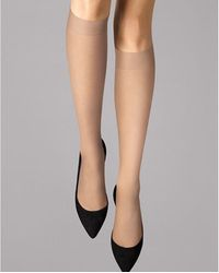 Wolford - Individual 10 Knee-highs - Lyst