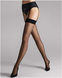 Wolford Individual 10 Stockings - Black