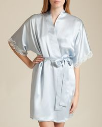 Christine - Bijoux Short Robe - Lyst