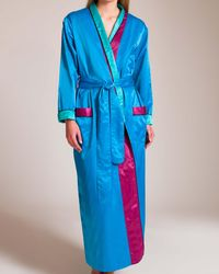 Louis At Home - Signature Monte Carlo Long Robe - Lyst