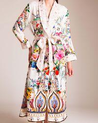Camilla Boheme Long Robe - Multicolor