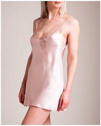 Carine Gilson Timeless Temptation Chemise - Pink