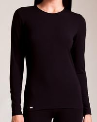 La Perla - New Project Long-sleeve Lounge Top - Lyst