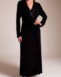 Paladini Couture Cabochon Hip Hop Long Robe - Black