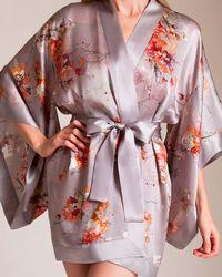 Meng Short Kimono - Pink