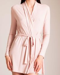 Skin Travel Collection Wrap Robe - Pink