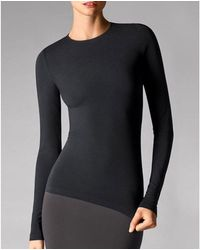 Wolford Viscose Pullover - Black