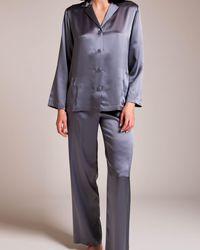 La Perla Silk Pyjama - Metallic