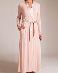Paladini Couture Cabochon Mango Long Robe - Pink