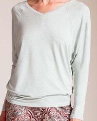 CALIDA Favourites Trend V-neck Shirt - Multicolor