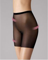 Wolford - Tulle Control Shorts - Lyst