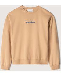 Nanushka Remy - Organic Cotton Logo Sweatshirt - Multicolor