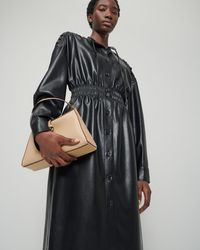 Nanushka Mini Noya - Vegan Leather Shoulder Bag - Multicolour