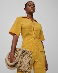 Nanushka Tabbie - Yellow