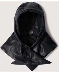 Nanushka Scarlett - Vegan Leather Hood - Black