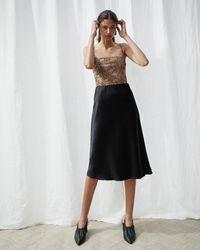 Nanushka Zarina - Slip Skirt - Black