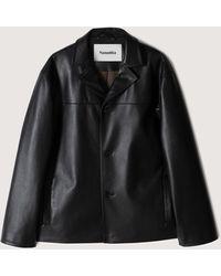 Nanushka Arto - Regenerated Leather Jacket - Black