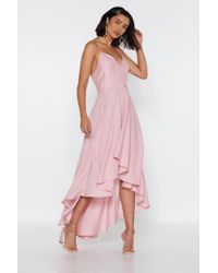 """Nasty Gal - """"rule The Dance Floor Lace-up Dress"""" - Lyst"""