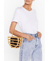 "Nasty Gal ""want Wooden Put It Past 'em Grab Bag"" - Natural"