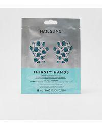 Nasty Gal Nails Inc Moisturising Hand Mask Set - Metallic