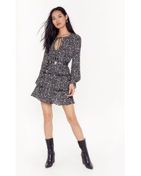 Nasty Gal - Here Grows Nothin' Floral Mini Dress - Lyst