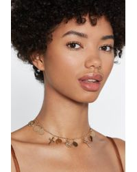 Nasty Gal - Charmed Life Pendant Necklace - Lyst