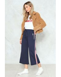 Nasty Gal | Zip Detail Side Jogger Zip Detail Side Jogger | Lyst