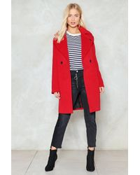 Nasty Gal - Where There's A Wool Coat - Lyst
